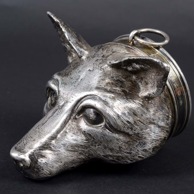 Fox mask caught by silver hunters for £5000 in 470-lot sale...