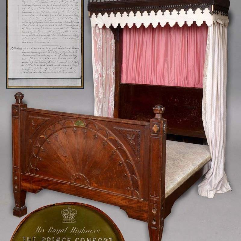 Bidders all wide awake for 'Royal' Bed...
