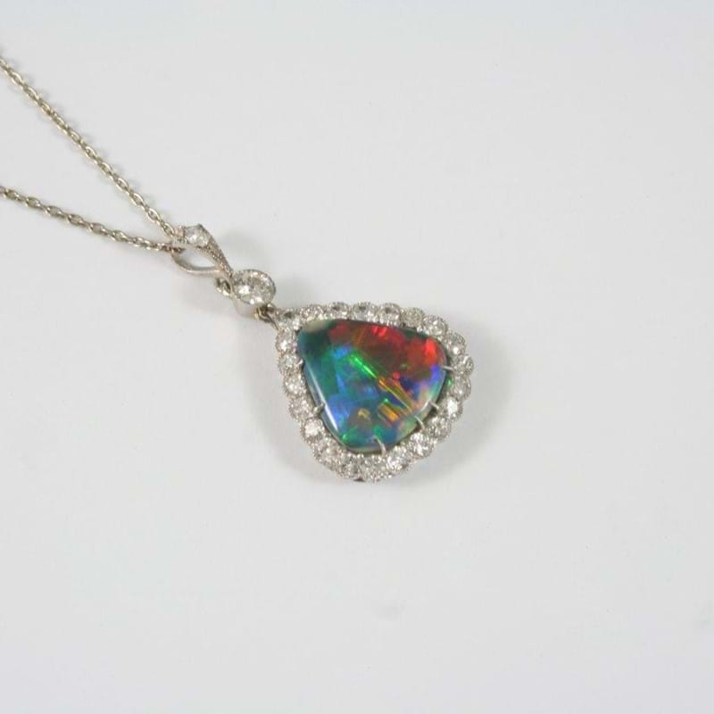 Top Price Swings Towards and Opal Pendant...