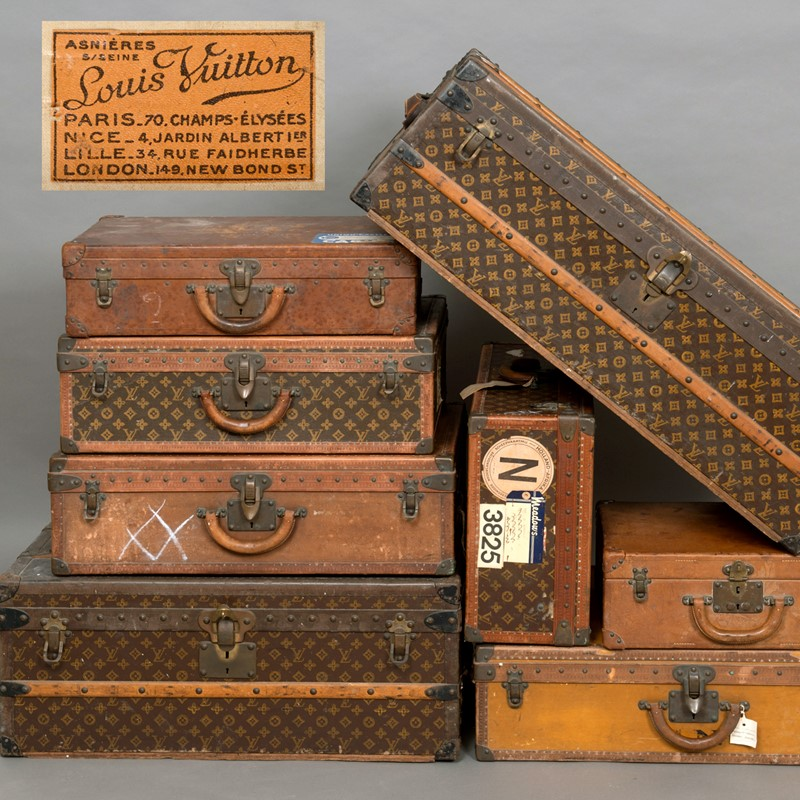 Travel in Style - Bag Yourself an Original Louis Vuitton (or Eight)...
