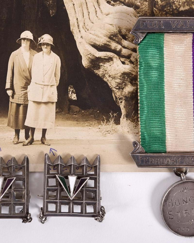 Suffragette Medal for Hunger Strike and for Valour bought for £27,250…