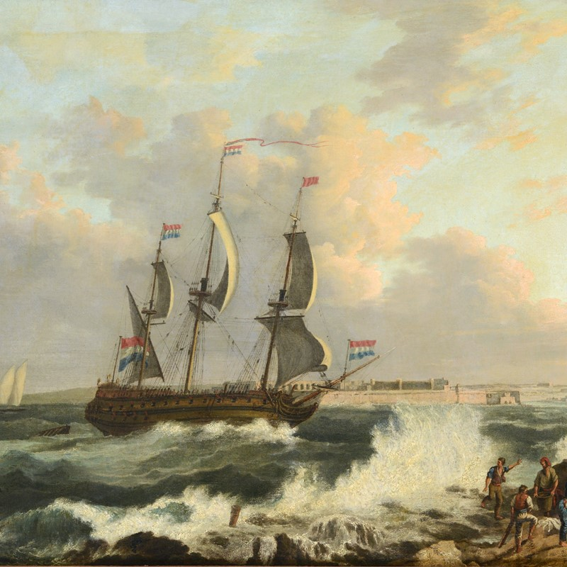 Maltese Masterpiece Sails to £21,000...