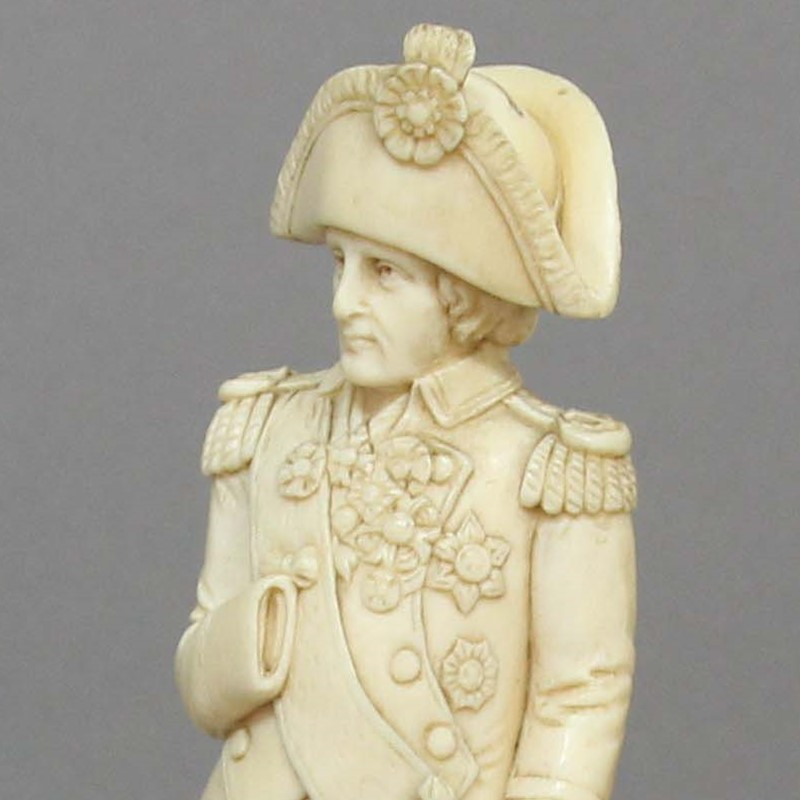Nelson Figurine Expects That Every Bidder Will Do His Duty...