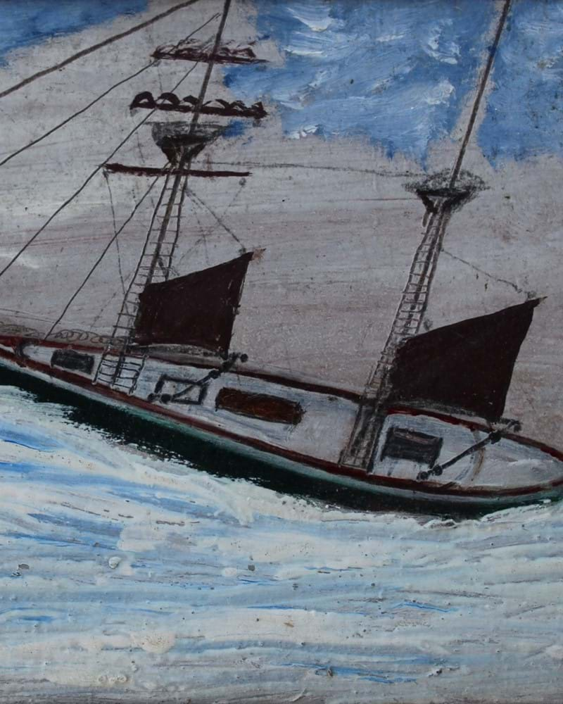 Prices on the Crest of a Wave for Alfred Wallis as Oil makes £28750...